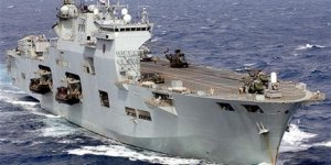PHM Atlantico Brezilya Donanması'nda