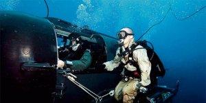 Sat komandolarına özel mini denizaltı