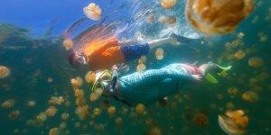 Doğa harikası Denizanası gölü