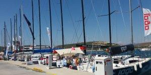 Büyük yarışa Teos Marina'da büyük final