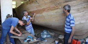 Nesilden nesile ahşap tekne imalatı