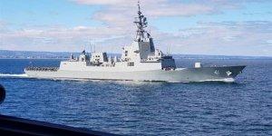 Avusturalya'nın hava savaş muhribi teslim edildi