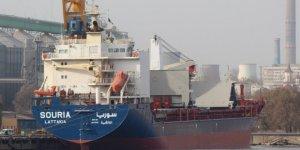 Boğaz'dan 6 yıl sonra Suriye gemisi geçti