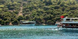 Göcek'te turlara ayda 90 bin turist katılıyor