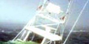 Türk bayraklı motoryat, Kappari kayalıklarına çarptı