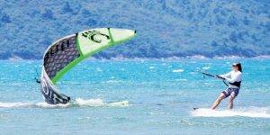 Akyaka'da Dünya Kiteboarding Şampiyonası heyecanı