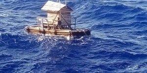 Balıkçı kulübesiyle sürüklenen genç kurtarıldı