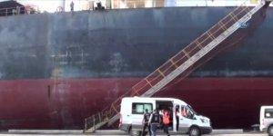 Gemide 415 bin litre kaçak akaryakıt ele geçirildi