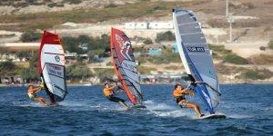 Rüzgar sörfünün şampiyonları belli oldu