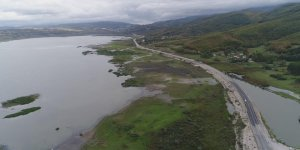 Doğa harikası Ladik Gölü de kuruyor