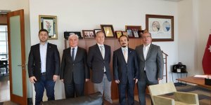 Odemed heyeti Piri Reis Üniversitesi'ni ziyaret etti
