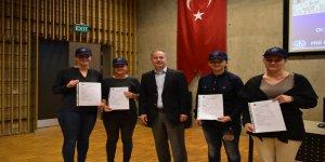 Kadın denizci adayları PRÜ'de buluştu