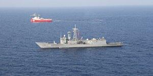 Barbaros'a Deniz Kuvvetleri'nden koruma çemberi