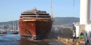 Ritz-Carlton'un ilk yolcu gemisi denize indirildi