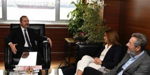 TYF Başkanı Akdurak'tan DTO Başkanı Kıran'a ziyaret