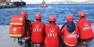 Güllük Körfezi'nde uçak kazası tatbikatı