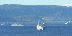 Oruç Reis Fırkateyni NATO tatbikatında