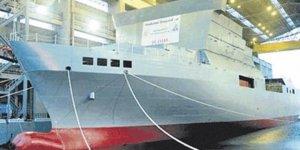 Yeni gözlem gemisi liman testlerine başladı