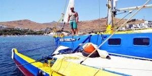 Fırtınaya yakalanan Türk sörfçü kayboldu