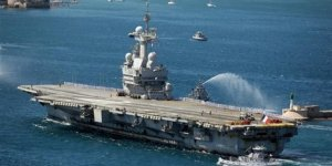 Charles de Gaulle donanmaya teslim edildi