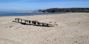 Eğirdir Gölü günden güne kuruyor