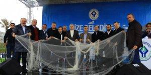 Rize Belediyesi 4. hamsi festivali düzenlendi