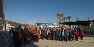 Teos Marina'dan tarihine anlamlı yolculuk