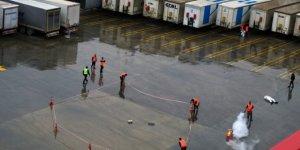 Yalova Ro-Ro Limanına 'drone' ile bomba bırakıldı!