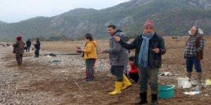 Kemer'de olumsuz hava balık çiftliğini vurdu