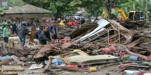 Endonezya'da tsunami, bilanço korkunç!