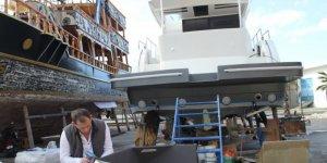 Teknelerde yaz hazırlığı başladı