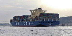 Asyaport'a dev bir gemi daha yanaştı