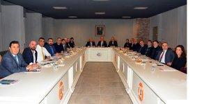KOSDER Yönetim Kurulu KEGM'de toplandı