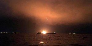 Gemi yangınında umutlar tükeniyor