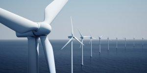 Çin'de denizin ortasına rüzgar türbini tarlası