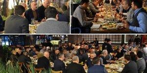 Yeşilyurt Limanı'nda iş ortakları kahvaltıda buluştu