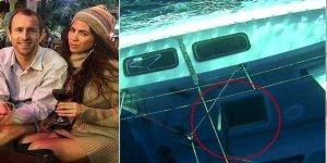 Eşini öldürmek için tekneyi batırmış!