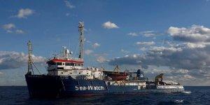 SeaWatch Akdeniz'de sığınacak liman arıyor