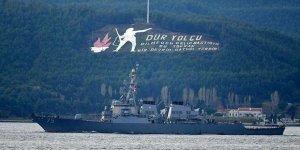 Amerikan savaş gemisi Karadeniz'den ayrıldı
