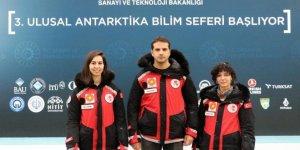 Antarktika Bilim Seferi ekibi yola çıktı