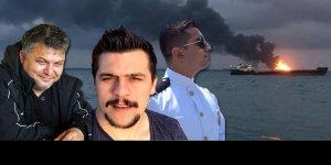 Kerç'te ölen denizciler son yolculuklarına uğurlandı