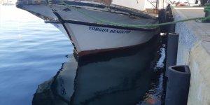 Yorgun denizci göçmen kaçakçılığından yakalandı