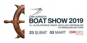 CNR Avrasya Boat Show 23 Şubat'ta başlıyor