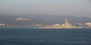 ABD savaş gemisi Marmara'ya açıldı