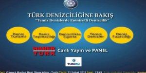"""""""Türk Denizciliğine Bakış"""" paneli yarın yapılacak"""