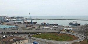 Trabzon Limanı harıl harıl çalışıyor