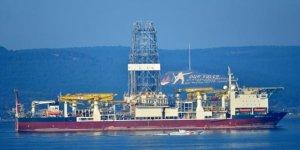 Yeni sondaj gemisi Çanakkale Boğazı'ndan geçti