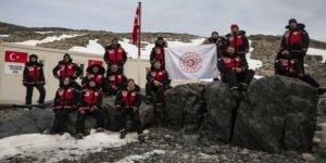 Türk ekibi Antarktika'daki çalışmalarını tamamladı