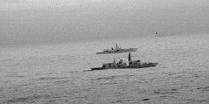 Rus savaş gemileri Manş Denizi'nde