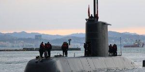 Türk Denizaltısı TCG Gür Arnavutluk'ta